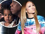 That backfired! BET producer SUSPENDED after Karrueche Tran jokes about Beyonce and Jay Z's two-year-old daughter Blue Ivy