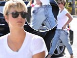 The Big Baggy Theory! Kaley Cuoco opts for comfort over style as she sports tragic pair of trousers