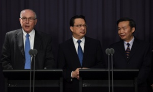 MH370: satellite phone call revealed as Australia gives update on search