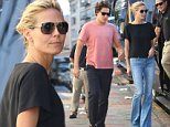 Heidi Klum, Vito Schnabel and family seen leaving her apartment   Pictured: Heidi Klum, Family, Vito Schnabel Ref: SPL825377  280814   Picture by: Banjo / Splash News  Splash News and Pictures Los Angeles: 310-821-2666 New York: 212-619-2666 London: 870-934-2666 photodesk@splashnews.com