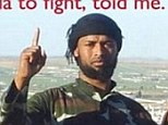 Radicalised: This picture tweeted earlier this year by journalist Mukhtar Ibrahim shows Abdirahmaan Muhumed who is believed to be the second American killed last week while fighting for the Islamic State
