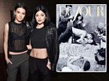 Crop-topped Kendall & Kylie Jenner celebrate their DuJour cover at NYC party