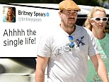 'Heartbroken' Britney Spears dumps boyfriend Dave Lucado after video surfaces 'showing him kissing another woman'