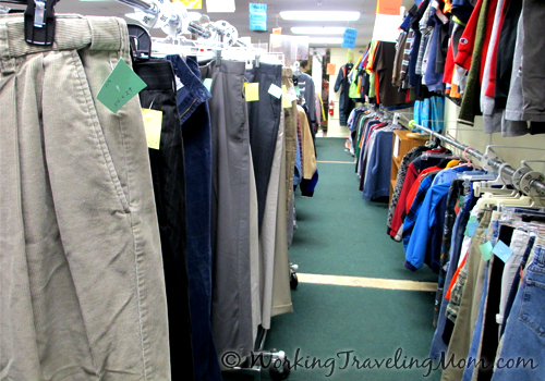 Ann Arbor thrift store used clothes