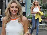 Gemma Merna seen meeting fans at the Hollyoaks gate after announcing she will quit Hollyoaks in october  ***EXC ALL ROUND*** ***LUMINOUS PHOTOS***