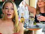 Safety bag: LeAnn Rimes tried to use the paparazzi to market her clear safety bags on Thursday's episode of LeAnn & Eddie