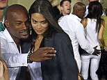 Tyson Beckford and Shanina Shaik