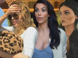 Khloe's raging hangover, Kim's bridezilla demands about Kylie's hair and rows about  Brody: Kimye's wedding extravaganza plays out on KUWTK