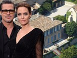PICTURED: The lavish French estate where Brad Pitt and Angelina Jolie finally said 'I do'