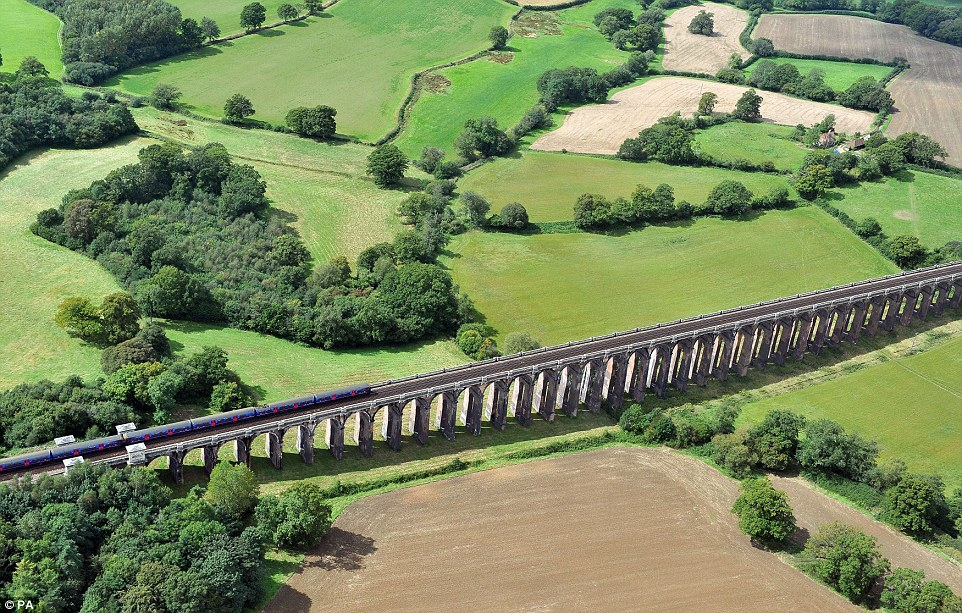 The Ouse Valley viaduct, also called Balcombe viaduct in Sussex, which will be used to connect the area with London and stations north of the River Thames