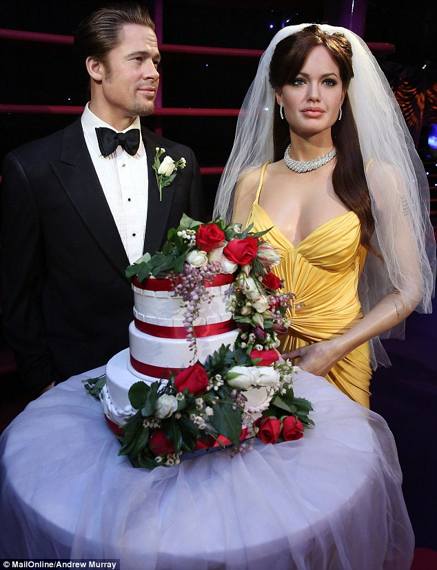 White wedding: Details of the high profile couple's wedding are as yet speculative, with one source saying the bride wore white