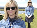 Dazzling in denim! Reese Witherspoon shines at Telluride Film Festival as she is joined by Oprah Winfrey and Hilary Swank