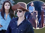 Justin Bieber goes all out to charm Selena Gomez as he takes her back home for a horseback ride... and even dresses the part