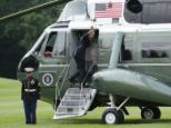 Travel: The timing of the President's trip to New York's Westchester County Friday for a series of weekend fundraisers couldn't come at worst time because it's the Labor Day weekend