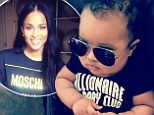 Ciara focuses on her baby in new Instagram photo amid rumours she ended engagement with son's father rapper Future