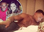 Kelly Brook shares shirtless picture of fiance David McIntosh in her bed after his eviction from Celebrity Big Brother house