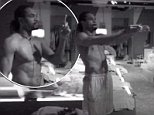 ****Ruckas Videograbs****  (01322) 861777 *IMPORTANT* Please credit Channel 5 for this picture. 29/08/14 Celebrity Big Brother 2014 - Channel 5 Day 12 SEEN HERE: Audley Harrison gets up in the early hours of this morning and starts to do some odd body movements, including a shaking of the arms and following his finger around the room. Grabs from today in the CBB house Office  (UK)  : 01322 861777 Mobile (UK)  : 07742 164 106 **IMPORTANT - PLEASE READ** The video grabs supplied by Ruckas Pictures always remain the copyright of the programme makers, we provide a service to purely capture and supply the images to the client, securing the copyright of the images will always remain the responsibility of the publisher at all times. Standard terms, conditions & minimum fees apply to our videograbs unless varied by agreement prior to publication.