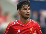 PRESTON, LANCASHIRE - JULY 19:  Suso of Liverpool in action during the pre season friendly match between Preston North End and Liverpool at Deepdale on July 19, 2014 in Preston, Lancashire.  (Photo by Michael Regan/Getty Images)