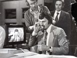 Jimmy Hill, television presenter. Climax.......tense moments before Match of the Day goes on air Jimmy Hill at the TV Studios in Lime Grove. **ORIGINAL PRINT HELD IN BOX 20569309**** PKT2223-153576 . REXMAILPIX.