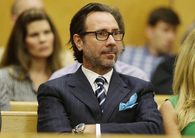 Tedd Wetherbee, who wants to open a marijuana store in the Tacoma suburb of Fife, Wash., listens during a hearing in Pierce County Superior Court, Friday, Au...