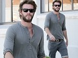 August 28, 2014: Liam Hemsworth goes furniture shopping with his buddy at The Helms Bakery in Los Angeles, California.\nMandatory Credit: Lazic/Borisio/INFphoto Ref: infusla-257/277 sp 
