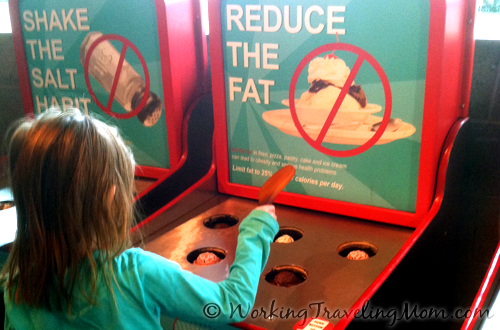 Michigan Science Center Reduce the Fat Game
