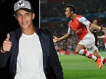Sanchez hits the town after Arsenal qualify for the Champions League