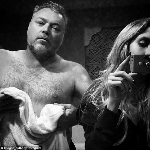 Return to the throne! Imogen shared this snap with her beau Kyle Sandilands on Wednesday - following the announcement that he and KIIS partner Jacki O had regained the top commercial Sydney breakfast radio spot