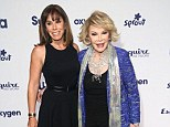 NEW YORK, NY - MAY 15:  (L-R) Melissa Rivers and Joan Rivers attend the 2014 NBCUniversal Cable Entertainment Upfronts at The Jacob K. Javits Convention Center on May 15, 2014 in New York City.  (Photo by Astrid Stawiarz/Getty Images)