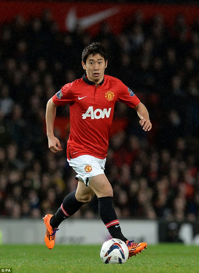 Struggle: The 25-year-old failed to impress the three managers he worked for at Old Trafford