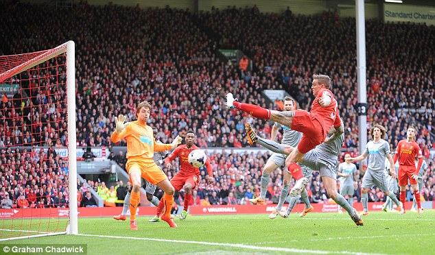 Key man: Agger has been an important defender for Liverpool in the past but is no longer first choice