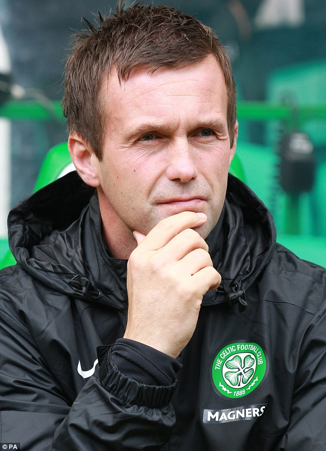 Chance: Ronny Deila believes a good run in the Europa League will stand Celtic in good stead for future Champions League campaigns