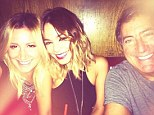 Reunited and it feels so good! Vanessa Hudgens shared a snap of her out with her former High School Musical co-star Ashley Tisdale and director Kenny Ortega
