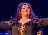 **AMENDED EMBARGO TIME**   STRICTLY NO USE BEFORE 22:00 26 AUG 2014. ALL PICTURES TO BE REMOVED FROM YOUR ACHIVES ON 31 DEC 2014. EDITORIAL USE ONLY.\n Mandatory Credit: Photo by Ken McKay/REX (4081851d)\n Kate Bush\n Kate Bush: Before The Dawn live at The Eventim Apollo, Hammersmith, London, Britain - 26 Aug 2014\n ©Noble & Bright