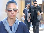 Romantic reunion! Nicole Richie and husband Joel Madden gaze into each other's eyes during hand-in-hand stroll through BrentwoodRomantic reunion! Nicole Richie and husband Joel Madden gaze into each other's eyes during hand-in-hand stroll through Brentwood