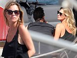 29.AUG.2014 - FORMENTERA - ITALY **EXCLUSIVE ALL ROUND PICTURES** *STRICTLY NOT AVAILABLE FOR ITALY KATE MOSS AND HER HUSBAND JAMIE HINCE PICTURED HOPPING ON A BOAT TO LEAVE TO FORMENTERA! BYLINE MUST READ : XPOSUREPHOTOS.COM ***UK CLIENTS - PICTURES CONTAINING CHILDREN PLEASE PIXELATE FACE PRIOR TO PUBLICATION *** *STRICTLY NOT AVAILABLE FOR ITALY* *UK CLIENTS MUST CALL PRIOR TO TV OR ONLINE USAGE PLEASE TELEPHONE 0208 344 2007