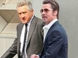 Brad Pitt and Robert De Niro get to work on short film in New York