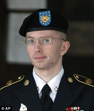 The former US army private was sentenced under the name Bradley Manning