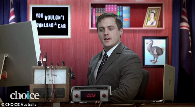 Choice have released a satirical advertisement mocking the government's internet filter proposal