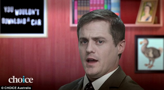 It features a fictitious Minister for the Internet who introduces a dodgy, hand-made internet filter to viewers