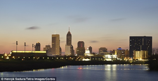 Indianapolis in Indiana, which according to new research is the third most American city