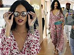 30.AUG.2014 - SARDINIA - ITALY\n*AVAILABLE FOR UK SALE ONLY*\n**EXCLUSIVE ALL ROUND PICTURES**\nSINGER RIHANNA AND FRIENDS CAUSE A STIR AS THEY GO SHOPPING IN PORTO CERVO WHILE ON HOLIDAY IN PORTO CERVO!\nBYLINE MUST READ : XPOSUREPHOTOS.COM\n***UK CLIENTS - PICTURES CONTAINING CHILDREN PLEASE PIXELATE FACE PRIOR TO PUBLICATION ***\n*UK CLIENTS MUST CALL PRIOR TO TV OR ONLINE USAGE PLEASE TELEPHONE 0208 344 2007**