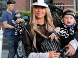 Fergie, 39, celebrated her son Axl's first birthday with husband Josh Duhamel, 41, on Saturday