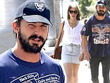 Shia LaBeouf enjoys a romantic lunch outing with his girlfriend Mia Goth... after stalker scare