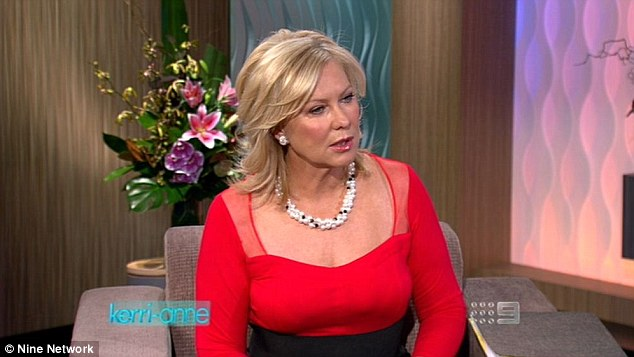 Morning great: She later moved to Channel Nine to host Kerri-Anne