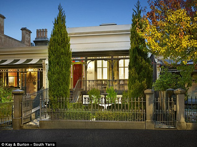 This Victorian Era meets contemporary house has three bedrooms and two bathrooms