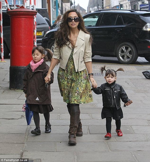 In the family: Myleene and her daughters will no doubt be following in her musical footsteps