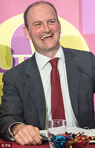Douglas Carswell during yesterday's press conference in central London