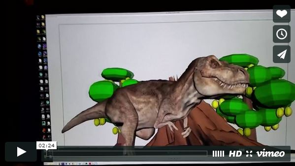 "Behind the Scenes ""Look Out for T-Rex"""