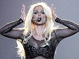 Single and ready to mingle! Britney Spears addressed her very public break-up live on stage in Las Vegas on Sunday night, admitting that she's excited to get back out dating, saying, 'The best part of breaking up is going on first dates'